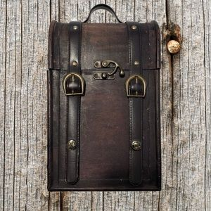 MCD More Core Division, vintage wooden box.